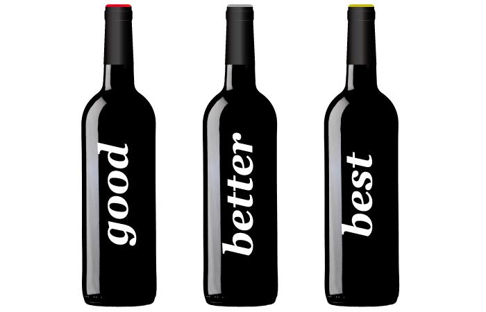 Botellas. Diseño gráfico, publicidad, cartelería digital, páginas web en Logroño.