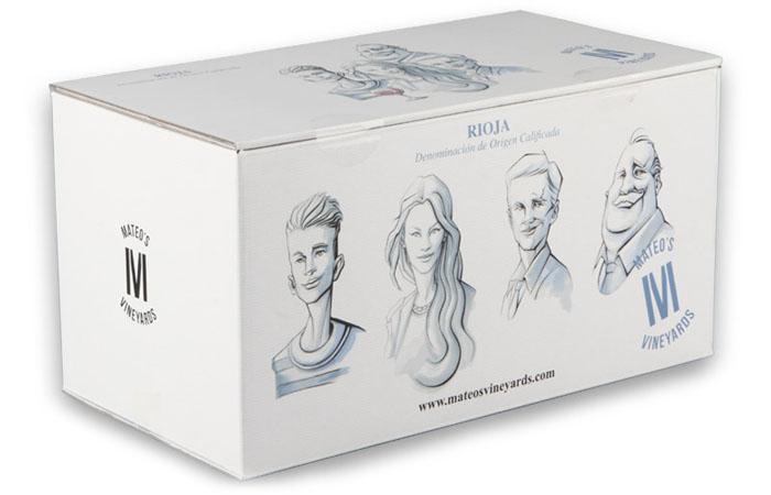 Caja de botellas. Diseño gráfico, publicidad, cartelería digital, páginas web en Logroño.