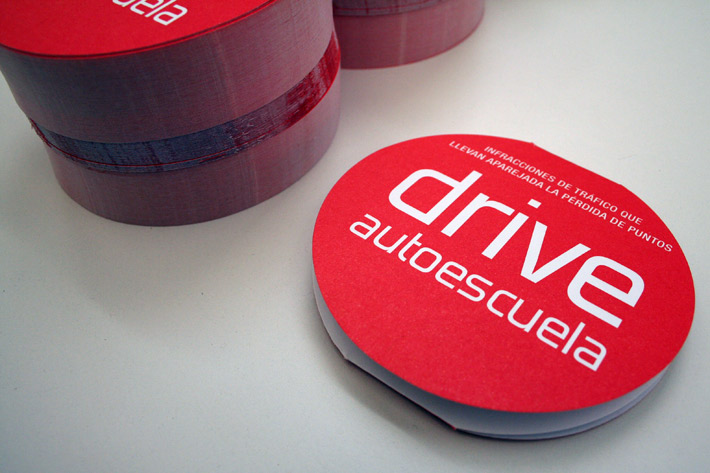 Autoescuela Drive-Diseño Gráfico Logroño