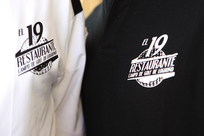 Imagen corporativa para Restaurante El 19