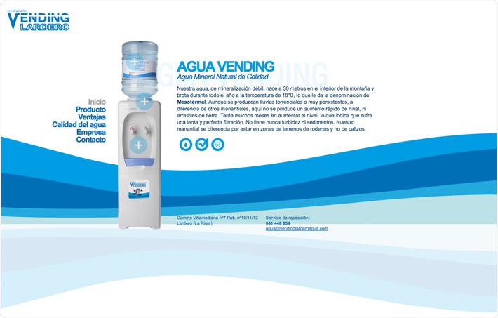 Vending Lardero Agua