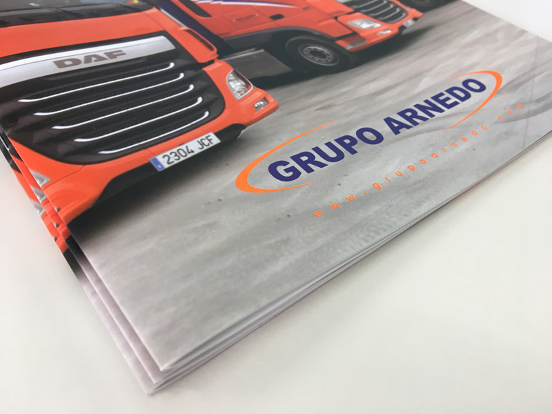 Diseño editorial para Grupo Arnedo-Logroño