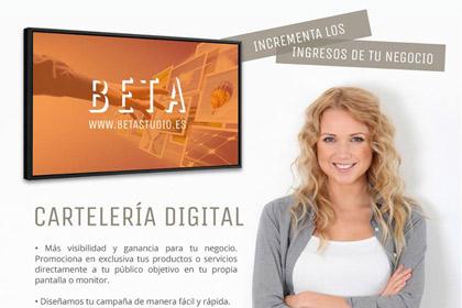 Cartelería digital en Logroño
