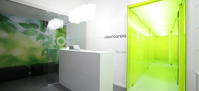Cartelería digital en Logroño-Clínica Dental Lozano Andía.